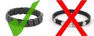 negative ion bracelet emf protection comparison