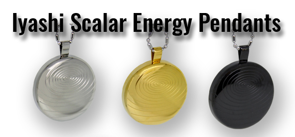 iyashi negative ion scalar energy pendant