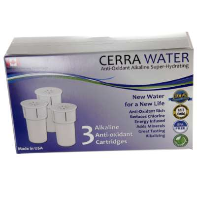 Cerra Water Replacement Filters (3 pack)