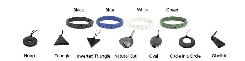 emf pendants and bracelets