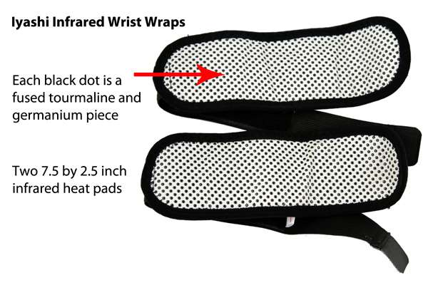 iyashi infrared wrist wraps