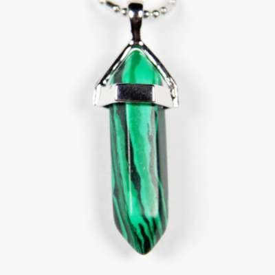 Iyashi Malachite Scalar Energy Pendant