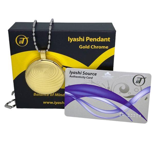 Iyashi negative ion scalar energy pendant gold 617529376792 iyashi negative ion scalar energy pendant gold mozeypictures Choice Image