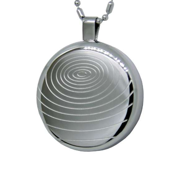 Iyashi negative ion scalar energy pendant silver quantum scalar iyashi negative ion scalar energy pendant silver aloadofball Choice Image