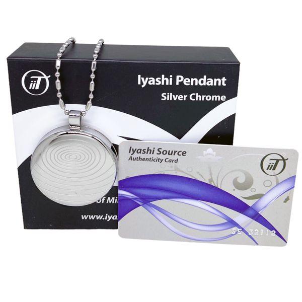 Iyashi negative ion scalar energy pendant silver quantum scalar iyashi negative ion scalar energy pendant silver aloadofball Gallery